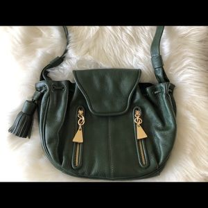SEE by CHLOÉ Cherry Crossbody in Dark Green